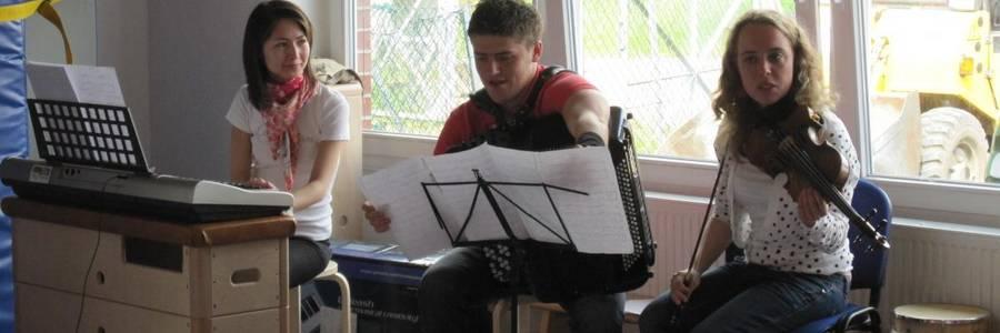 Besuch von Studenten der Musikhochschule